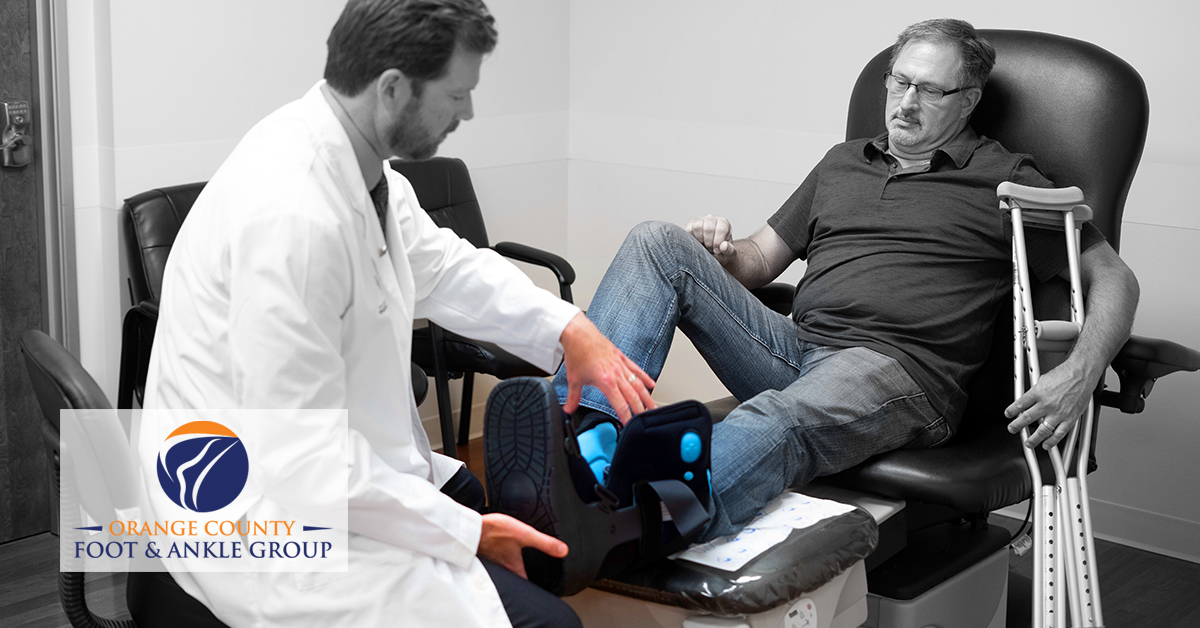 OCfeet - foot and ankle Surgery - Foot Boot