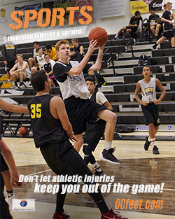 Sports Injury basketball - OCfeet.com