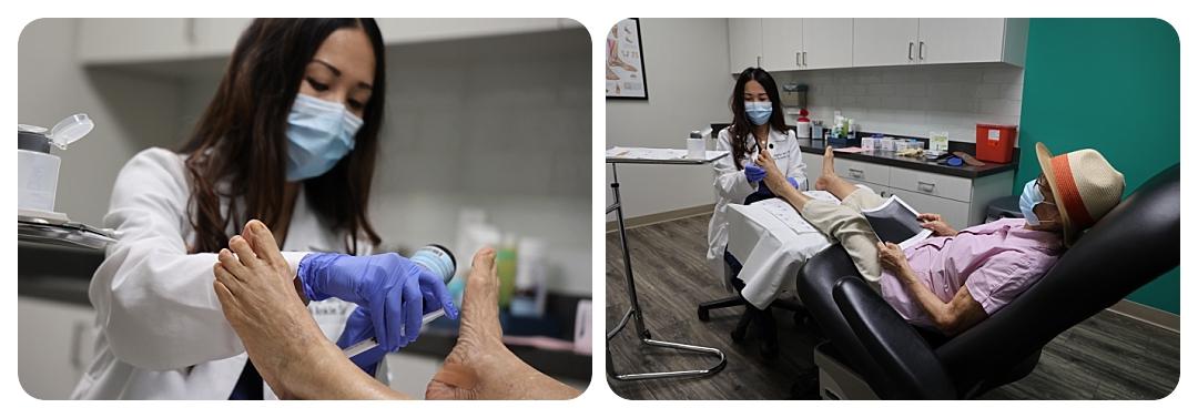 Dr. Daphne Yen and Patient - OCfeet.com