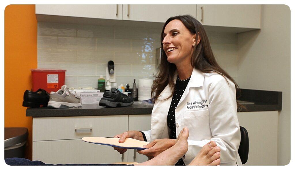 Dr. Gina Wilvang - OCfeet.com